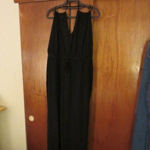 Victoria's Secret maxi dress cover up Black size L